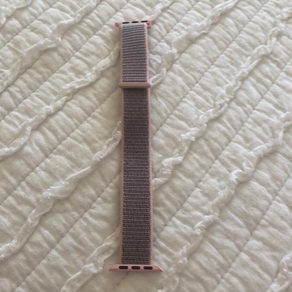 Accessories Pink Sand Velcro 38mm Apple Watch Band Poshmark